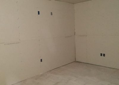 sheetrock in garage