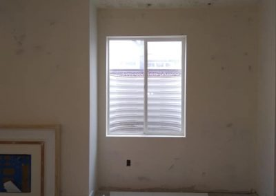 sheetrock bedroom