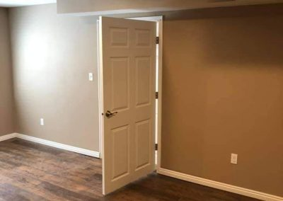 sheetrock and painting bedroom